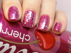 love this nail polish!! Would be great for valentines day!