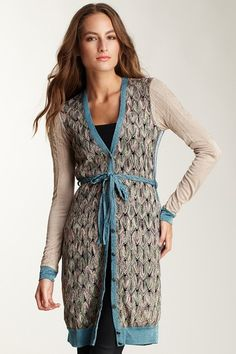 Custo Barcelona long cardigan