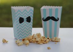 What a great addition to any party! These adorable popcorn boxes will definitely add charm to your celebration :)  {The- Fabulous-DETAILS} :  This