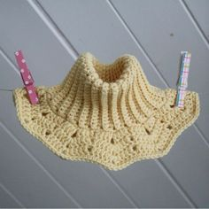 Double warm crochet neck warmer for kids