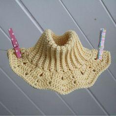 Double warm crochet neck warmer for kids