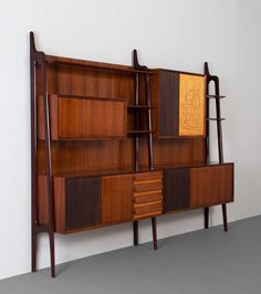 Anonymous; Wall Unit by Dassi, c1955.