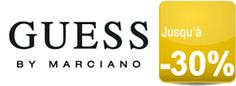 Shopping: Soldes GUESS jusquà -30% | GUESS 2016