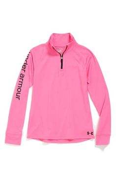 Under Armour 'Tech' AllSeasonGear® Quarter Zip Pullover (Big Girls) available at #Nordstrom