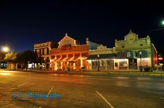 Downtown San Angelo, Texas. My hometown, and a Good One!