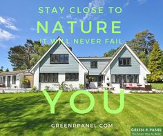 One Simple Secret to Stay with Nature @ greenrpanel.com #home #greenrpanel