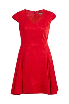 ZAC POSEN Fit and Flare Party Dress Size-inclusive designer luxury Plus-size fashion