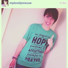 The awesome @mylovelyrescue reppin another LTL tee! #livetolove