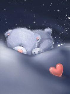 Доброй ночи мой медвежонок красивые картинки, открытка днем