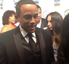 Loop On Location: 2013 NAACP Awards-Our friend Hill Harper stopped by to chat on the red carpet | Loop 21