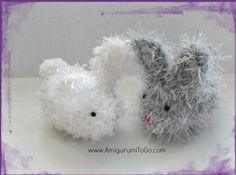 Amigurumi Bunny free pattern ~ Amigurumi To Go