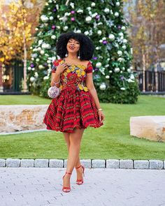 2020 Latest and Unique Ankara Short Gown Styles - Naija's Daily Ankara Short Gown Styles, Short African Dresses, Latest Ankara Styles, Short Gowns, Latest African Fashion Dresses, African Print Dresses, African Print Fashion, African Prints, African Wear