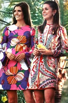 Exotic girl's fashion, 1968. Looks like what we are wearing now