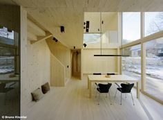 interiors of laminated timber construction houses - Buscar con Google