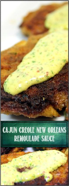 a Remoulade is one of the classic French sauces. It is more of a savory Aioli, a flavored mayonnaise.   A Creole Remoulade Sauce is simi...