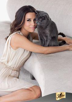 Lorenzo Agius has shot Eva Longoria for the new global Sheba Cat Food campaign!