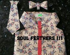 All sizes and prints collar ties & bows
