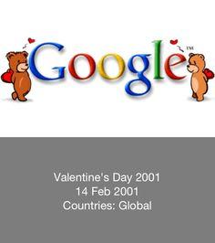 Valentine's Day - Google Doodle