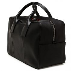 Christian Louboutin Grained Leather Holdall