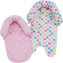 Child of Mine Duo Head Support, Pink Elephant