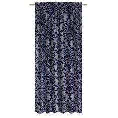 Штора, Рагаллина синяя, 200х260 см, лента, Шторы - Каталог Леруа Мерлен