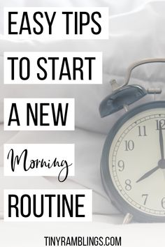 Tips for how to start a good morning routine. Most likely you want to start a morning routine because you feel you need more time in the day to get everything done. You feel like there's more you could fit in if only you could get up earlier and start… Healthy Morning Routine, Morning Habits, Gym Routine, Self Care Routine, Feeling Burnt Out, How Are You Feeling, Feeling Exhausted, Stress Relief Tips, Habits Of Successful People