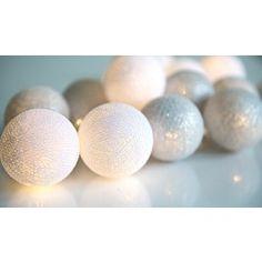 Lyslenke - Sølv - 20 lys