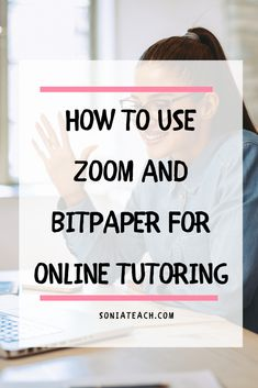 Want to start tutoring online, but not sure to begin? In this video, I share two free tools I use to tutor online. Zoom for video calling & BitPaper for an online whiteboard! See how simple it is to start tutoring. Teaching Strategies, Teaching Tips, Learning Resources, Learning Spanish, Educational Websites For Kids, Educational Activities, Online Whiteboard, Online Lessons, Tips Online