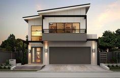 fachadas de casas con cochera electrica