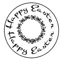 Free Easter digital stamps and sentiments @Gina Venturelli-Huskey-hannelie.blogspot.com