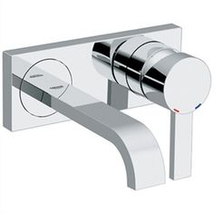 Grohe Allure 2-Hole Wall Mount Vessel Trim - Starlight Chrome