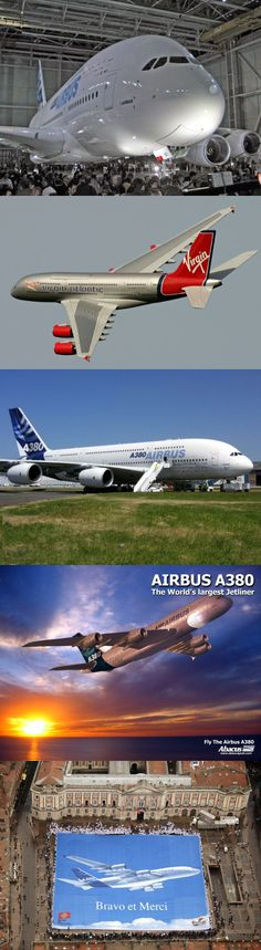 Airbus A380,  Avions - Toulouse - France...