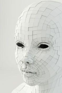 Paper Mask.   Follow us! - http://starshipseraphm.blogspot.com/p/home.html
