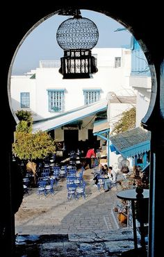 Sidi Bou Said, Tunisia. My home away from home. I studied abroad there in college.