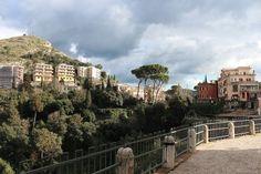A view of Tivoli, Italy.