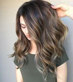 Brown Hair Color With Highlights | Balayage Hair Colors #haircolor #brownhair #highlighthair #babylights #hairpainting #ombre #balayageombre #blonde #balayagehighlights #balayage Brown Ombre Hair, Ombre Hair Color, Light Brown Hair, Hair Color Balayage, Brown Hair Colors, Brunette Color, Bayalage, Babylights Brunette, Brunette Ombre