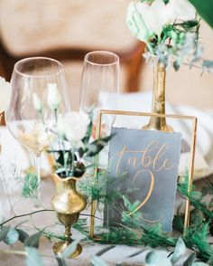 green wedding decorations/ green and gold wedding centerpiece/ rustic spring wedding decorations/ spring wedding centerpieces Art Deco Wedding, Wedding Themes, Wedding Colors, Rustic Wedding, Wedding Day, Trendy Wedding, 1920s Wedding Decor, Metallic Wedding Theme, Wedding Colour Palettes