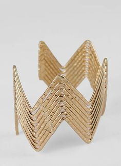 zigzag cuff bracelet $10.40! Totally have this!