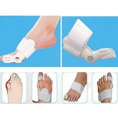 BETTERWALK™ Bunion Splint Big Toe Straightener - Care - Skin care , beauty ideas and skin care tips Bunion Relief, Foot Pain Relief, Bunion Pads, Get Rid Of Bunions, Bunion Surgery, Tama, Big Toe, Feet Care, Straightener