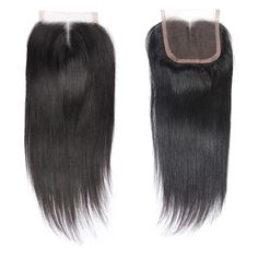 Closures Queen Mary Peruvian Hair Straight Hair 4*4 Lace Closure With Baby Hair 100% Human Hair Non Remy Free Middle Three Part 8-20