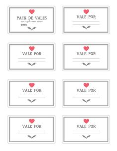 vales para san valentín -Valid For Coupons Valentine's day Love Gifts, Gifts For Him, Diy Gifts, Friend Birthday Gifts, Diy Birthday, Ideas Aniversario, Mo S, Boyfriend Gifts, Diy And Crafts