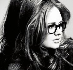 Adele. Absolutely love her and always love her make up. :-)