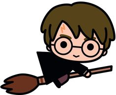 Harry Potter kawaii hand drawn Harry Potter Kawaii Hand gezeichnet Chibi and Kawaii Cuties