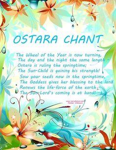 Ostara chant.