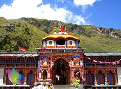 Badrinath temple sometimes called Badrinarayan temple, is situated along the Alaknanda river, in the hill town of Badrinath in Uttarakhand state in India. It is widely considered to be one of the holiest Hindu temples, and is dedicated to god Vishnu. The temple and town are one of the four Char Dham and Chota Char Dham pilgrimage sites. It is also one of the 108 Divya Desams, holy shrines for Vaishnavites. Ref: http://en.wikipedia.org/wiki/Badrinath_temple