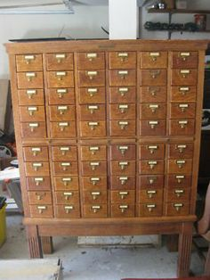 library drawers | Library Catalogue Drawers