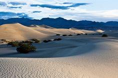 Death Valley National Park, Mesquite Sand Dunes Sunrise