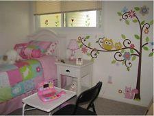"""Le presentamos nuestra pegatina infantil de pared """"Arbol con animales"""" med.XXL172*147cm.Ideal para decorar la habitación de su bebé."""