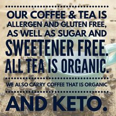 We only carry great quality coffee, tea and cocoa. #coffee #tea #hotcocoa #caffeine #decaf #hotdrinks #javamomma #glutenfree #allergenfree