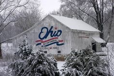 Ohio Bicentennial Barn....I am pretty sure that we have seen this barn many time in our travels